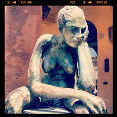 Thinking woman #Verucchio #Rimini http://www.riminiwebtv.com/verucchio-molto-eccezionale-video_f00958389.html