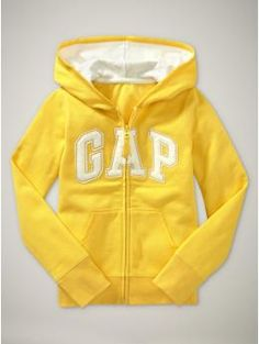 I have a small obsession with my bright Gap hoodies!