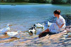 Vladimir Volegov ...SUCH WONDERFUL.ROMANTIC ART
