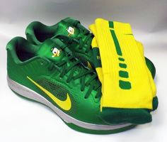 "Oregon Authentic Nike Lunar Hypergamer Low ""Fighting Ducks"" Auction 