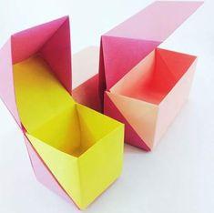 New origami boxes further adjustments origami box origamibox origamiboxes paperf. - Denise Filippo New origami boxes further adjustments origami box origamibox origamiboxes paperf. New origami box Origami Design, Diy Origami, Origami Gifts, Origami Ball, Useful Origami, Origami Paper, Origami Ideas, Origami Folding, Dollar Origami