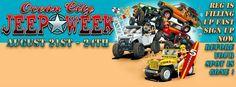 Ocean city Jeep Week!!