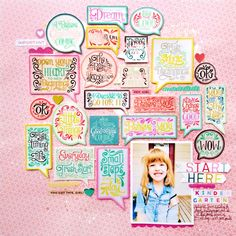 Technique Spotlight with Paige Evans: Layouts - Stamp & Scrapbook EXPO Scrapbook Expo, Scrapbooking Layouts, Scrapbook Pages, Digital Scrapbooking, M Craft, Oh My Heart, Scrapbook Embellishments, American Crafts, Layout Inspiration