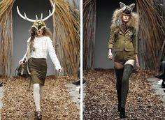 animal*head*vintage: Animal Head Fashion - Topshop Unique