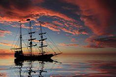 Google Image Result for http://images.fineartamerica.com/images-medium-large/pirate-ship-at-sunset-shane-bechler.jpg