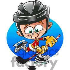 Cartoon Hockey Player Clip Art Car Pictures
