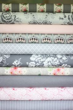 Lilly fabric bundle half yard each of 10 fabrics by WhimsyQuilts