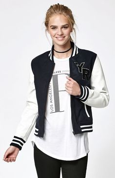 Young & Reckless Tiffany Varsity Jacket at PacSun.com