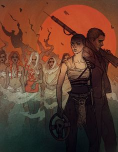 Blood, seed and milk Art Print -Mad Max: Fury Road