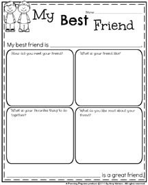 151 Best First Grade Worksheets images in 2019 | Writing activities ...
