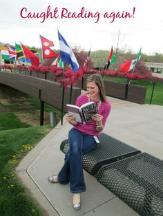 Chrystal has been Caught Reading again!