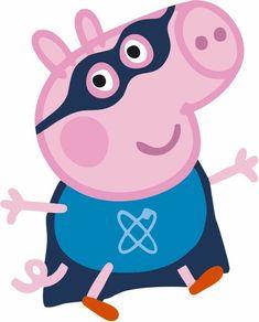 Cumple George Pig, Peppa Pig Familie, Peppa Pig Images, Peppa Pig Wallpaper, George Pig Party, Aniversario Peppa Pig, Cumple Peppa Pig, Pig Family, Pig Birthday