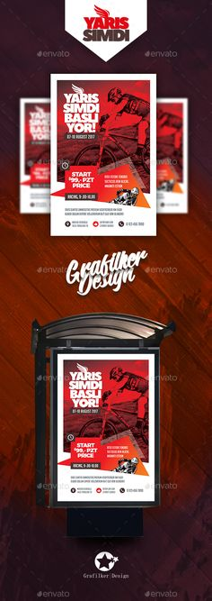 Bicycle Racing Poster Templates — Photoshop PSD #training #excitement • Download ➝ https://graphicriver.net/item/bicycle-racing-poster-templates/20080483?ref=pxcr