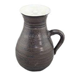 花器 手拉陶瓷花器 黑&白色 陶瓷 W175*D140*H220mm