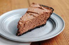 Bailey's Salted Caramel Chocolate Pie Recipe - She Wears Many Hats