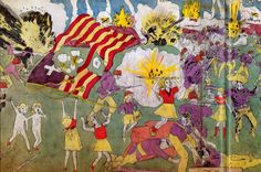 """MyArtMakers - Henry Darger - ""The Story of the Vivian Girls"""