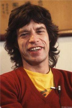Mick Jagger, NYC, 1981 © Bob Gruen