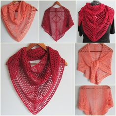 This easy pattern works up quickly, and uses only one skein of fingering weight yarn to make an airy little shawl with loads of drape and a modern geometric diamond design. Because of the open mesh fabric, it makes a perfect accessory for any season. It can be worn over the shoulders like a shawl, around the hips for a swimsuit cover-up, or my favorite, tied like a bandanna with the point in the front. Instructions are provided for increasing the shawl's size. I've used Shalimar Paulie, but…