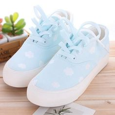 """Students hand-painted canvas shoes Coupon code """"cutekawaii"""" for 10% off"""