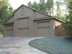 rv garage doors on pole barn - Bing images