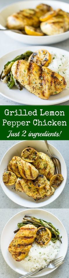 Staring down plain chicken breasts? Add Lemon Pepper and throw them on the grill. Summer dinner is solved in 30 minutes or less, and it's delicious!