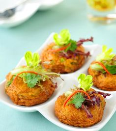 Thai Crab Cakes Recipe: Crunchy on the outside, melt-in-your-mouth on the inside Thai Crab Cakes!