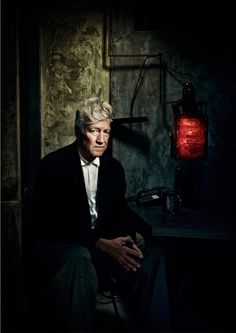 David Lynch. He has been such a fantastic influence on my own fine art.