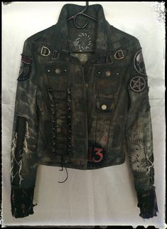 Jacket by Chad Cherry from Chad Cherry Clothing.