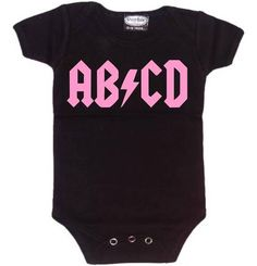 DR. Totally my future daughter... grandpa would love ha Alphabet Rock