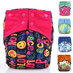 Reusable Nappy Cover ,Washable Cloth Diaper Nappies
