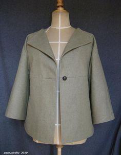UNIQUE jacket pattern. by bcnuniquepatterns on Etsy