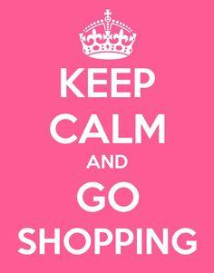 Shopping, my favorite sport