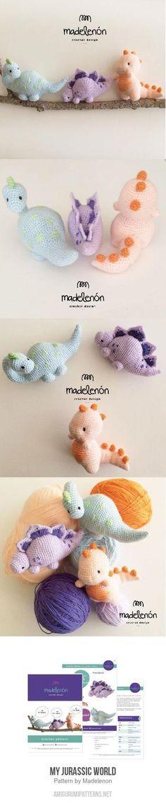 Dinosaurios Amigurumi Pattern