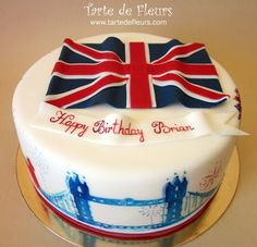 London themed cakes | London themed b-day cake — Birthday Cakes