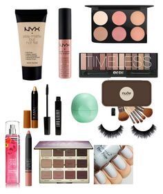 """""""My Style"""" by stienann ❤ liked on Polyvore featuring MAC Cosmetics, NYX, tarte, NARS Cosmetics, Nude by Nature, Lord & Berry, Eos, women's clothing, women and female"""
