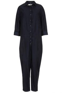MOTO Tencel Denim Boilersuit - Looks comfy; maybe wear with wedges or flatforms.
