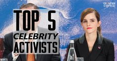Top 5 Celebrity Activists | blog.frontiergap.com | www.frontiergap.com | #activism #sustainability #LGBTQrights #climatechange #feminism #equality #indigenousrights