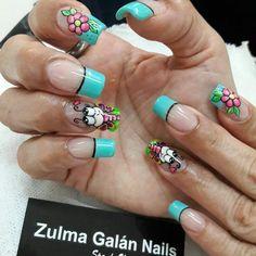 Triangles, Diana, Nail Designs, Hair Beauty, Vestidos, Decorations, Nail Decorations, Short Nails, Nail Desighns