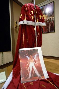 Freddie Mercury's robe in London