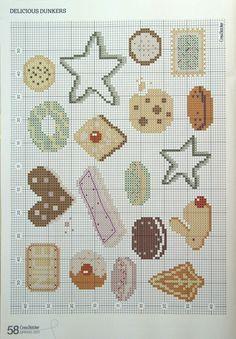 Cookies cross stitch