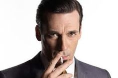 Yum. I'm talking about the cigarette and Don Draper.