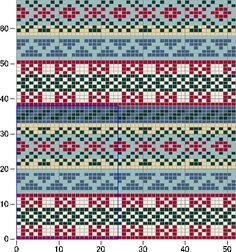 Photo from album Жаккарды 2 on Yandex. Fair Isle Knitting Patterns, Knitting Charts, Knitting Socks, Knitting Designs, Knitting Stitches, Knit Patterns, Cross Stitch Patterns, Motif Fair Isle, Fair Isle Chart