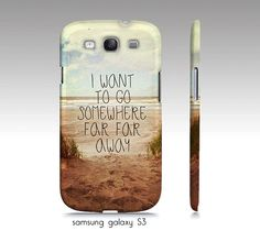 Beach phone case Samsung S3 S4 iphone 4 5 by VintageChicImages, $35.00