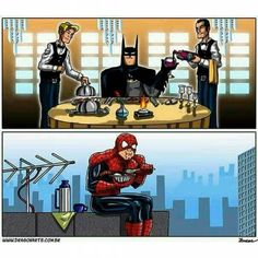Bom almoço gente.  #comida #almoço #almuerzo #dejeuner #pranzo #lunch #rango #boia #fome #hungry #lunchtime #mittagspause #bomaapetite #bonapetit #bonappetit #fominha #batman #superheroi #superhero #homemaranha #spiderman #engracado #funny #lmao #lmbo #lol #humornerd #nerdhumor #nerduniverse