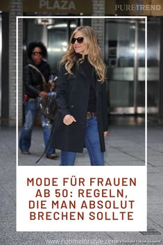 Mode für Frauen ab 50: Regeln, die man absolut brechen sollte. Auch über 40 stilvoll angezogen: so geht's! Stil und guter Geschmack statt altmodischen Regeln. #ü40 #ü50 #mode #frauenmode #2020modetrends #frühlingsmode #modetrends #fashion #over40 #over50 #over50fashiontips #over50fashionstyle