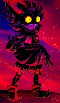 moonfall by askDion - Zelda: Majora's Mask 12th anniversary series  #Majora #TheLegendOfZelda #Nintendo