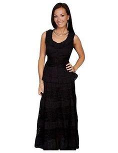 8f2d3d31 Scully Western Skirt Womens Cantina Crochet Bottom Knit Waist PSL-134  Western Wear Stores,