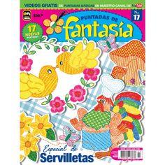 Revista Puntadas de Fantasía 17 - Servilletas - Formato Impreso
