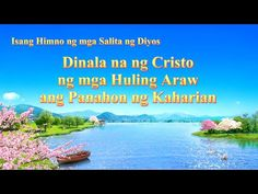 "Tagalog Christian Song | ""Dinala na ng Cristo ng mga Huling Araw ang Pan... Choir Songs, Jesus Songs, Gospel Song Lyrics, Gospel Music, Praise And Worship Songs, Song Hindi, Christian Songs, Tagalog, Music Videos"