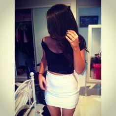 #skirt #croptop